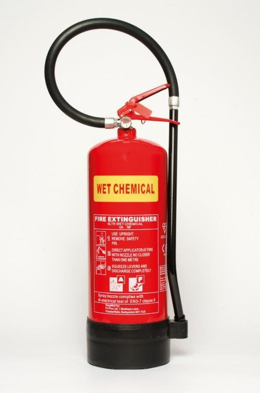 View Category WET CHEMICAL EXTINGUISHERS