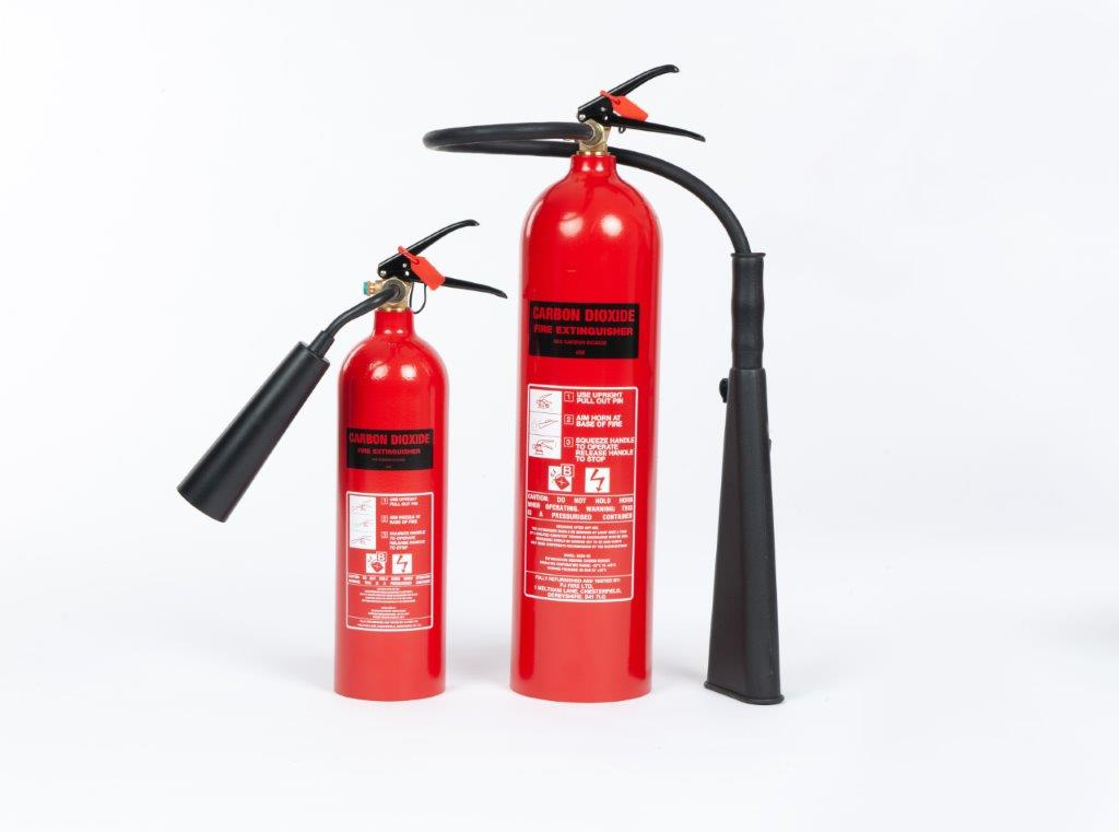 View Category CO2 EXTINGUISHERS