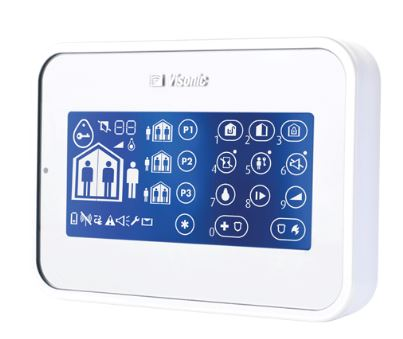 VISONIC POWERMASTER WIRELESS TOUCH SCREEN AND PROX KEYPAD