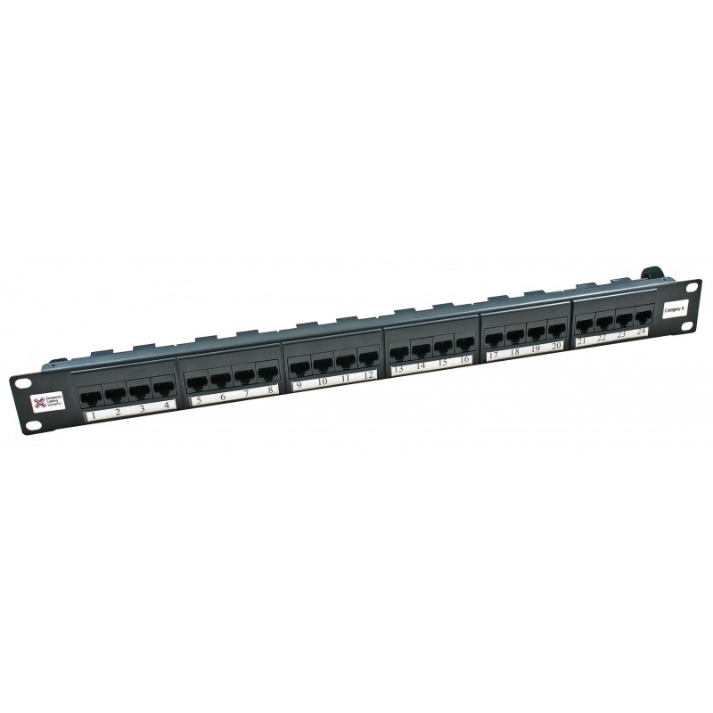 24 WAY CAT 6 PATCH PANEL