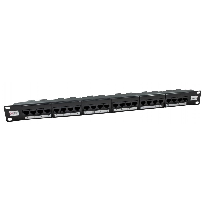 24 WAY CAT5E PATCH PANEL
