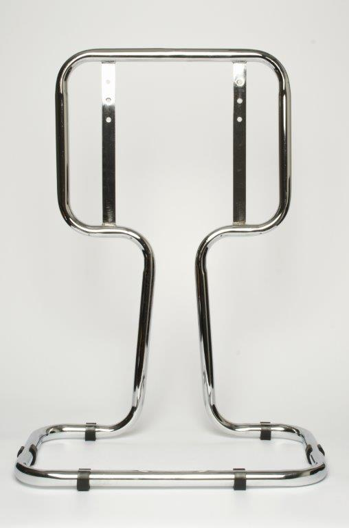 DOUBLE CHROME STAND
