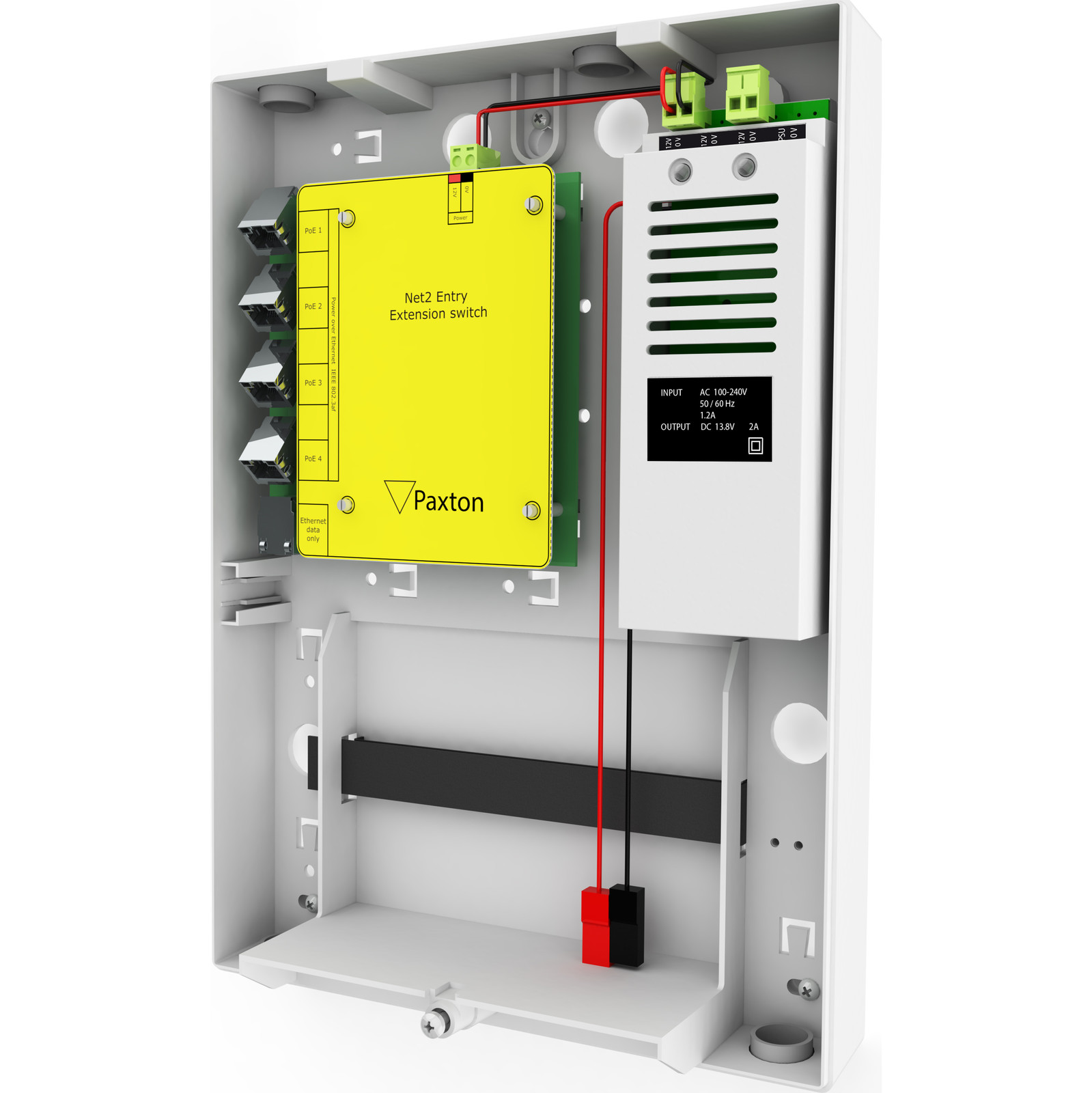NET2 ENTRY EXTENSION SWITCH
