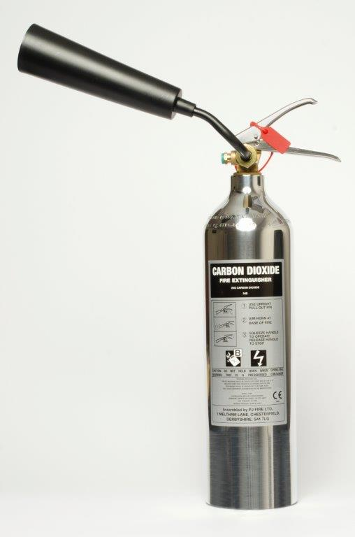 2KG CO2 POLISHED EXTINGUISHER