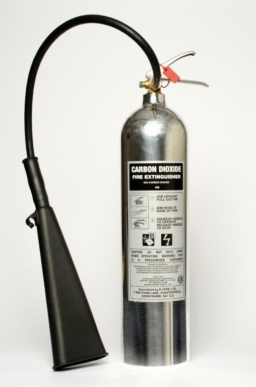 5KG CO2 POLISHED EXTINGUISHER
