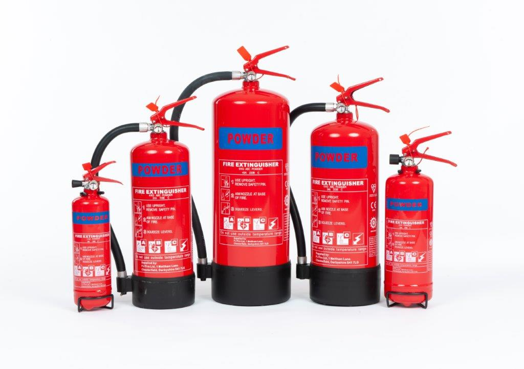 1KG ABC POWDER EXTINGUISHER
