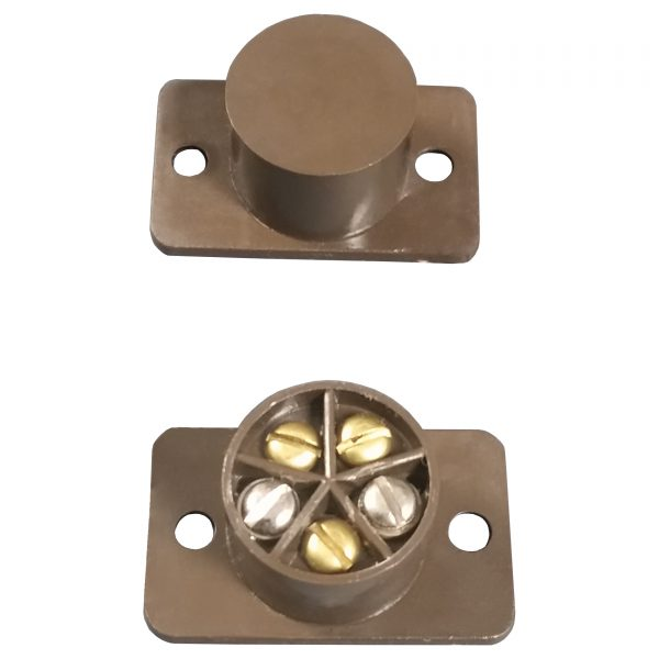 FLUSH DOOR CONTACT BROWN