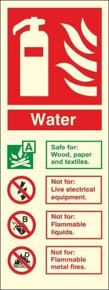 WATER PHOTOLUMINESCENT VERTICAL