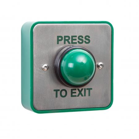 GREEN DOME EXIT BUTTON