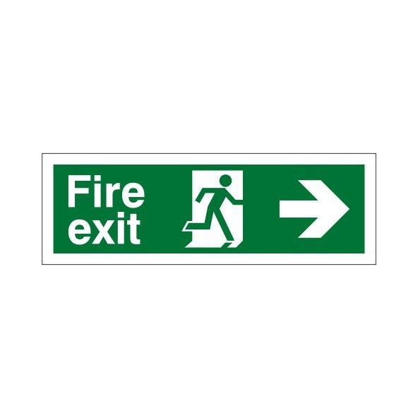 FIRE EXIT RIGHT