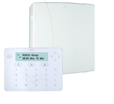 LIGHTSYS METAL PANEL, LARGE BOX & ELEGANT KEYPAD KIT
