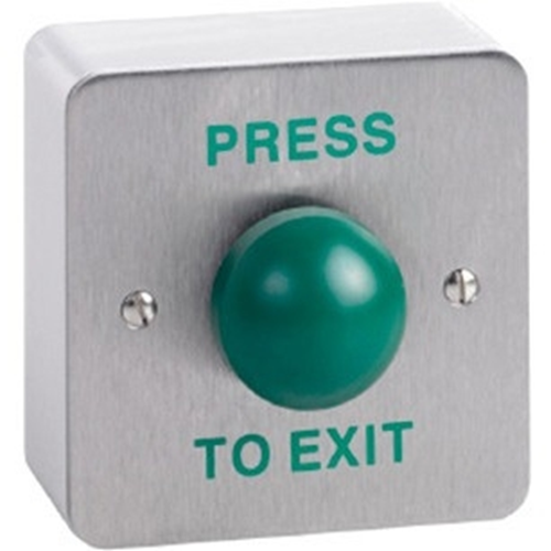 S/S DOMED EXIT BUTTON